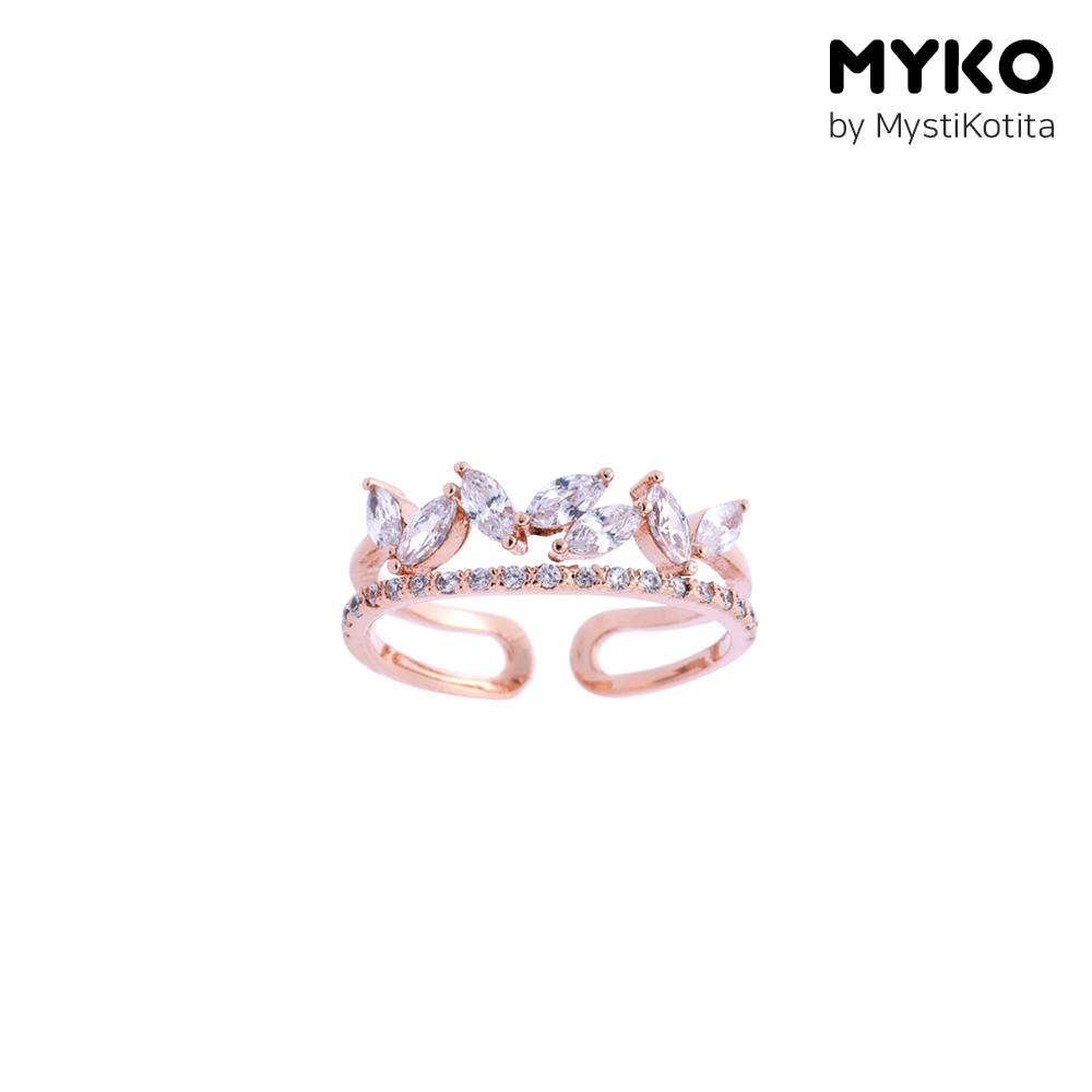 [미코주얼리] 플로레 반지 MK2R7