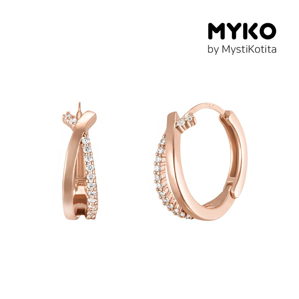 [미코주얼리] 14k 핀 뷔우스 귀걸이 MK3EC2