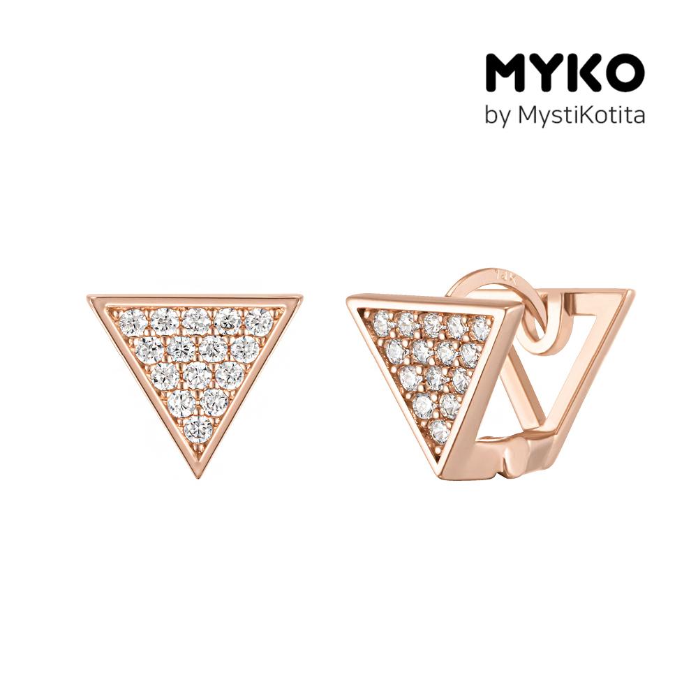 [미코주얼리] 14k 핀 포에비아 귀걸이 MK3EC27