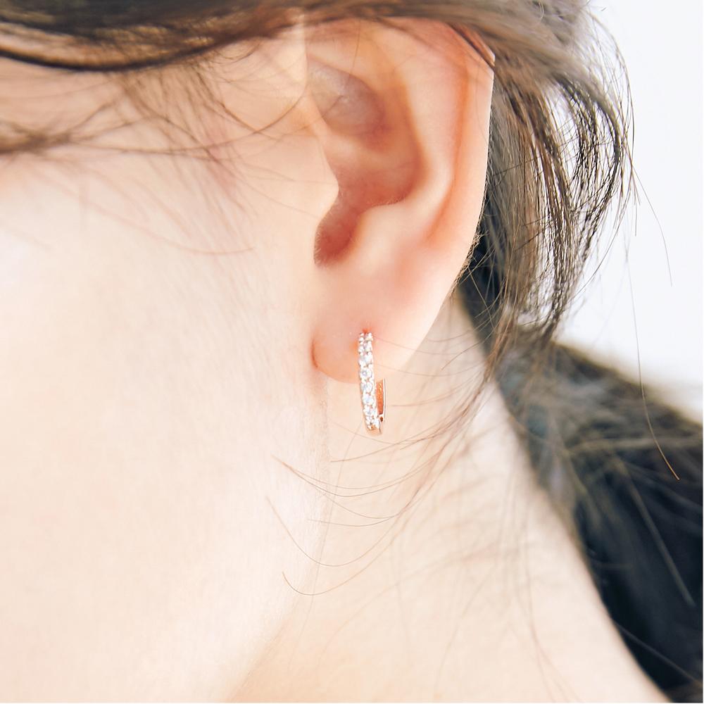 [미코주얼리] 14k 핀 크랑 귀걸이 MK3EC3