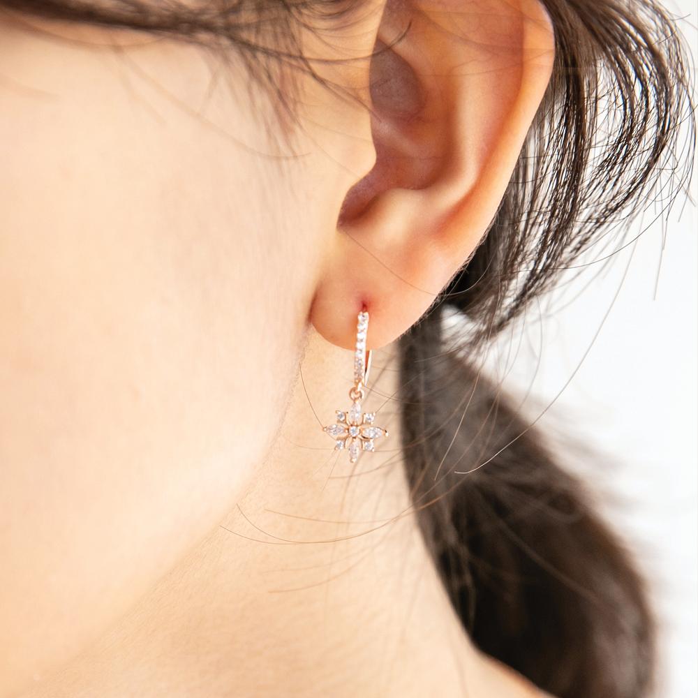 [미코주얼리] 14k 핀 스노클 귀걸이 MK3EC8