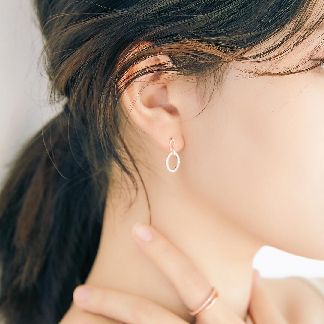 [미코주얼리] 14k 핀 리오나 귀걸이 MK3EI1