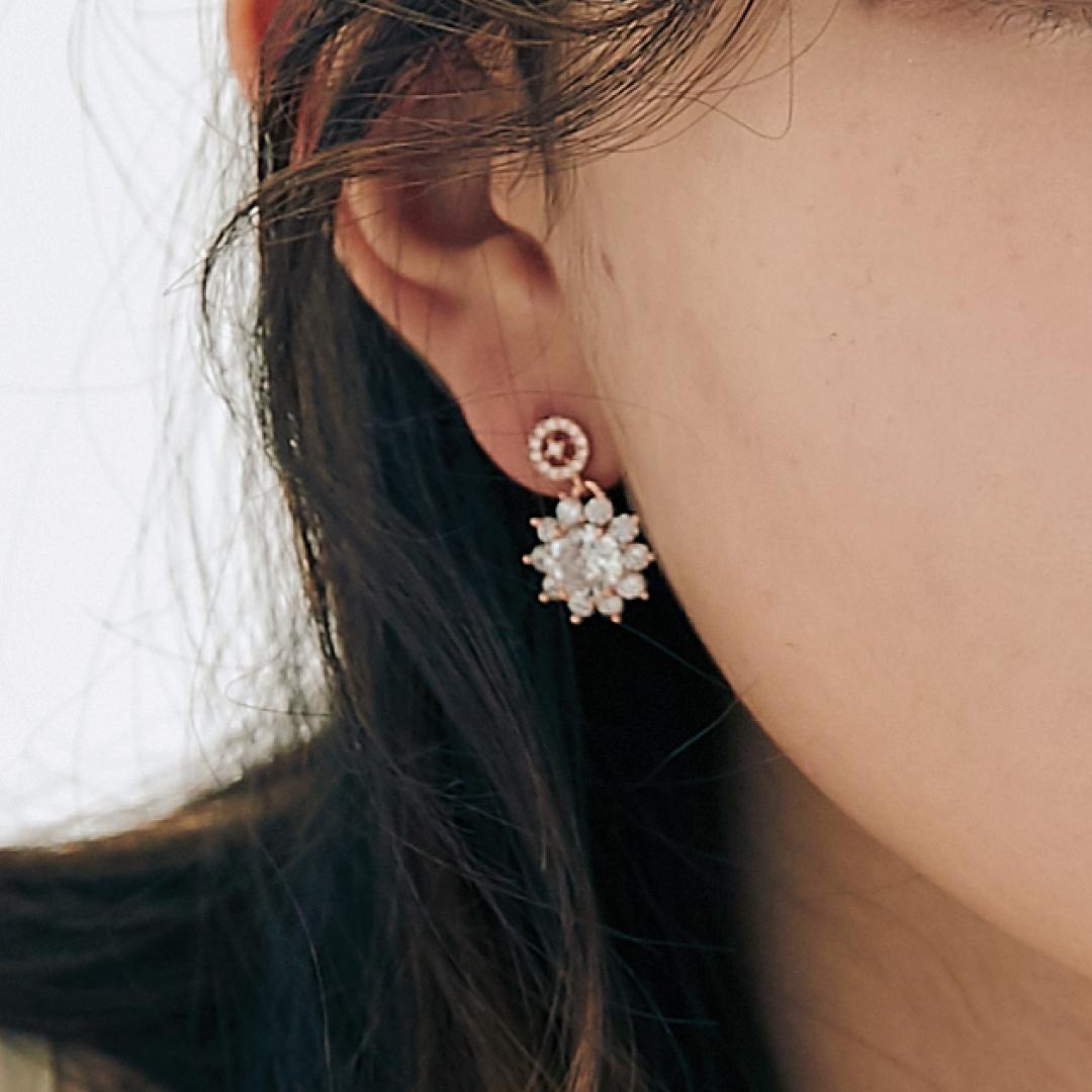 [미코주얼리] 14k 핀 비크폴 귀걸이 MK3EI2