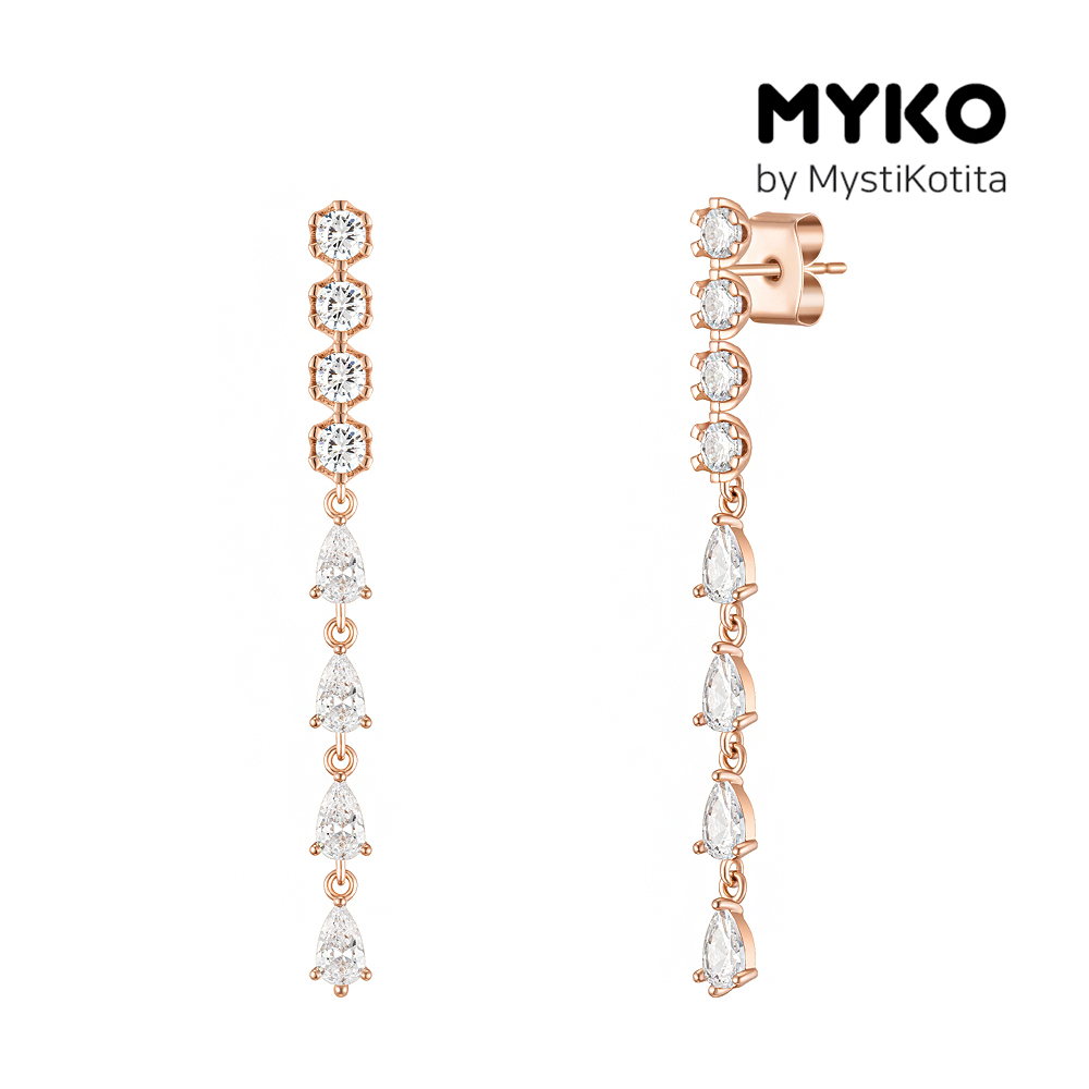 [미코주얼리] 14k 핀 비뉴시클 귀걸이 MK3EI6