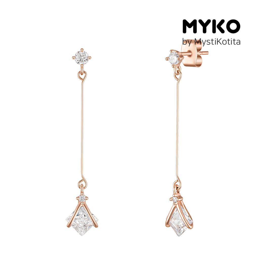 [미코주얼리] 14k 핀 어뉴트 귀걸이 MK3EI8