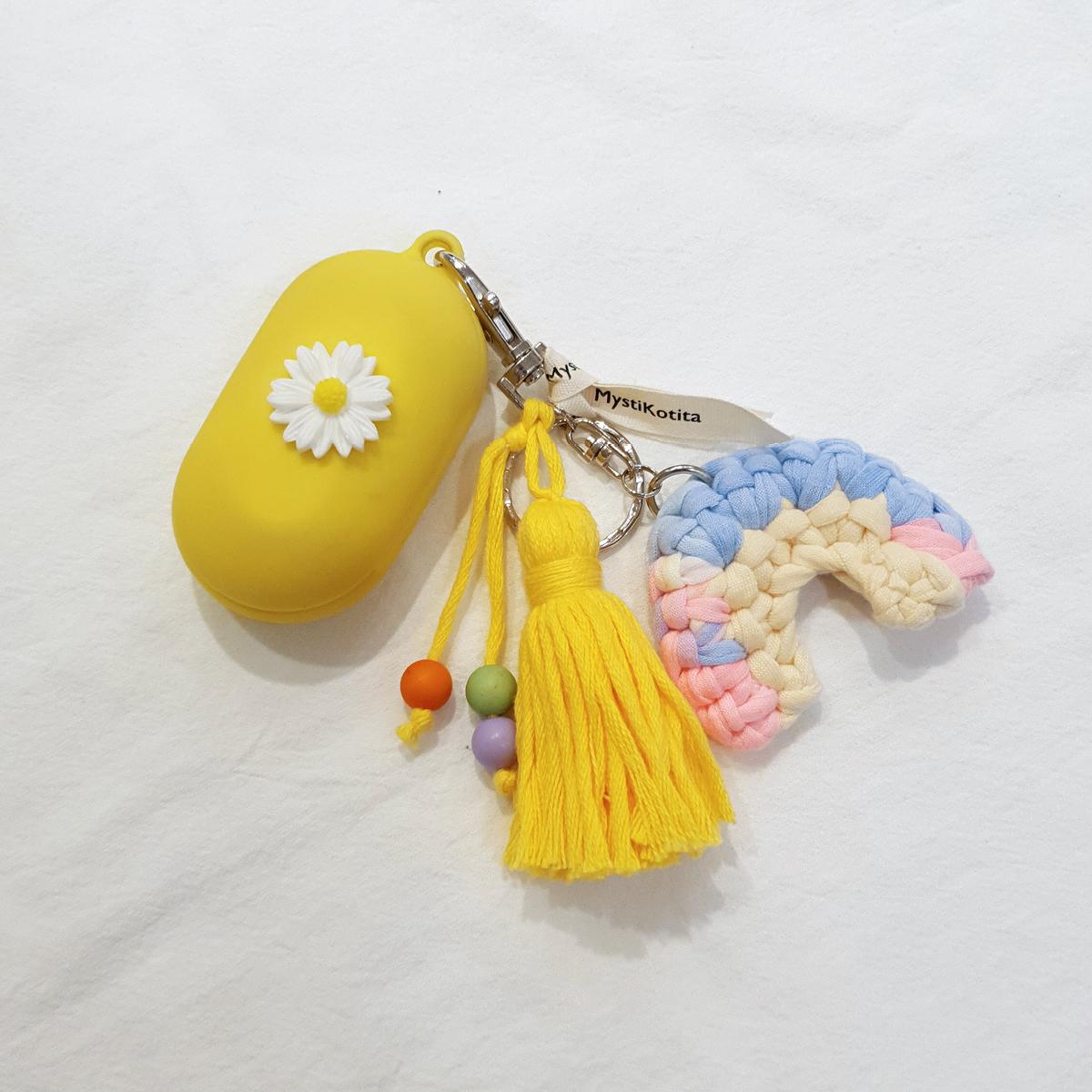 [DIY] 레인보우키링 - 태슬
