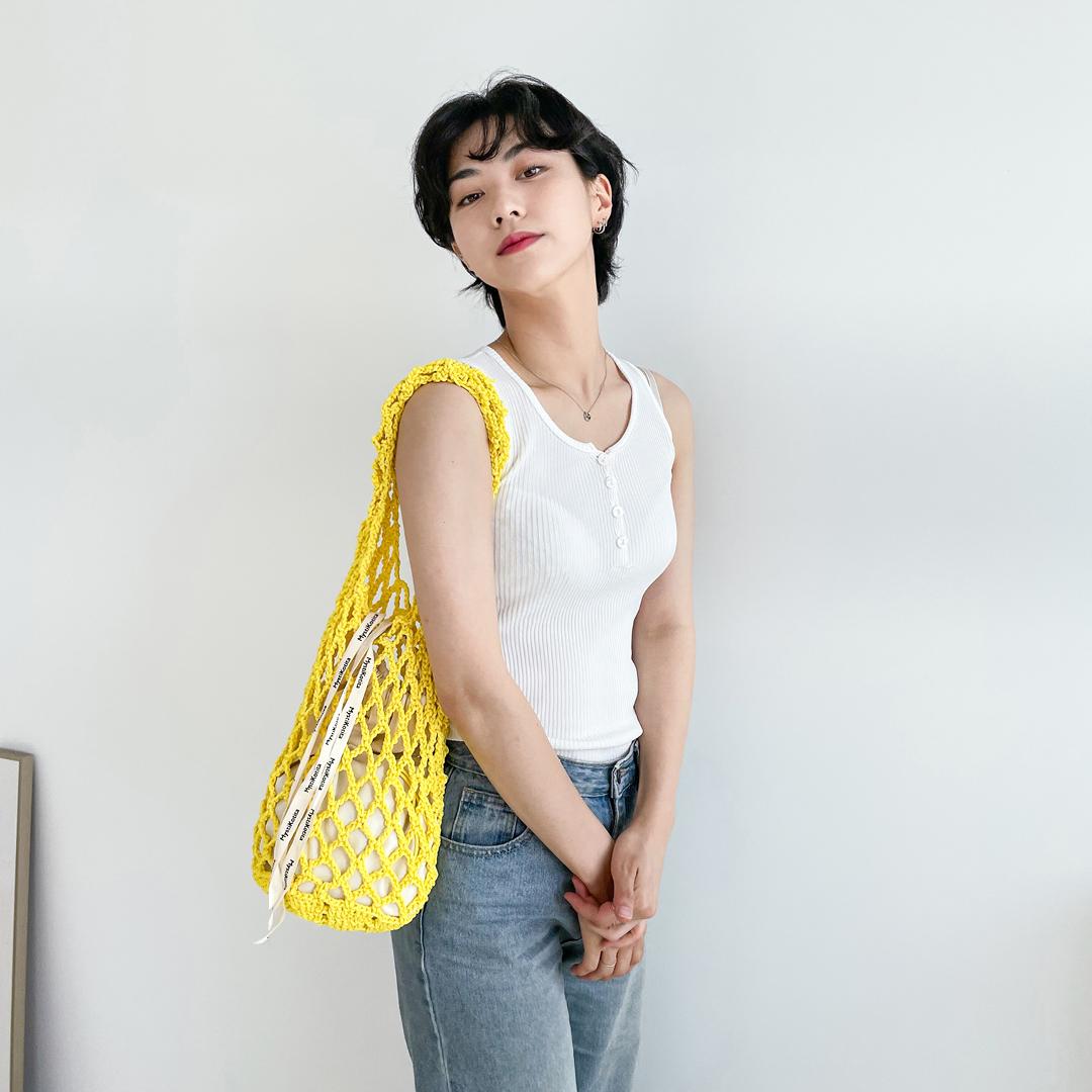 [DIY] 비치네트백 - 러버리