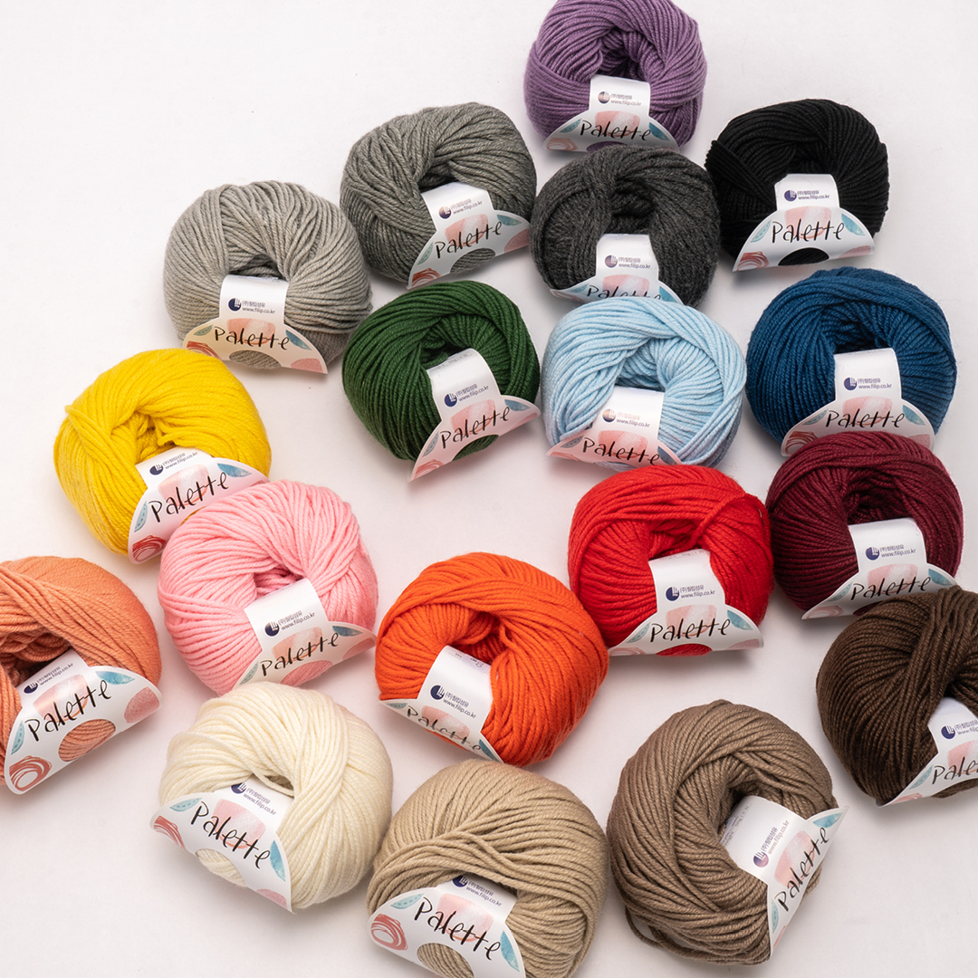 [YARN] 팔레트 - palette 16 color