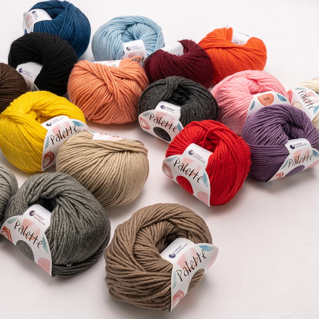 [YARN] 팔레트 - palette 16 color