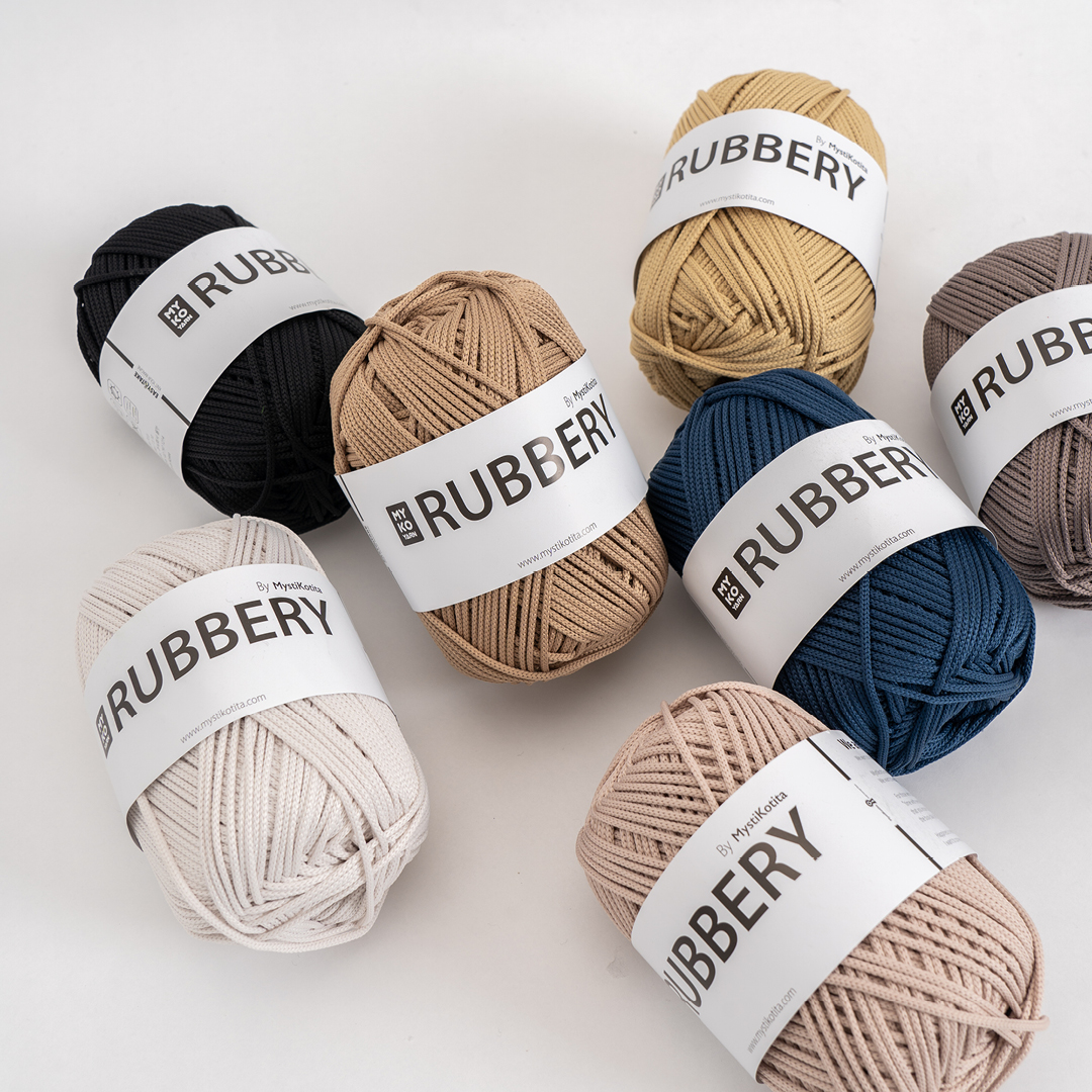 [YARN] 러버리얀 - RUBBERY - 3color